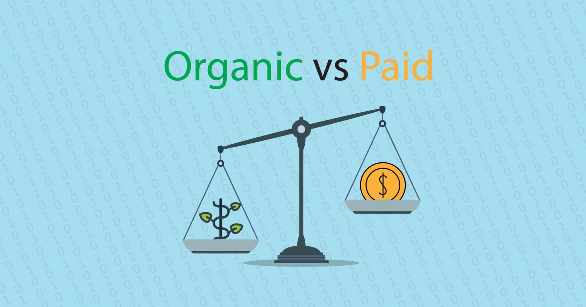 The Difference Between Paid & Organic Results | Momentum3 Growth