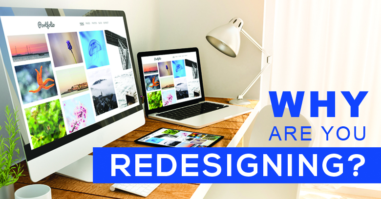 Graphic design services - redesigning