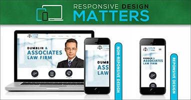 Graphic design services - mobile responsive design