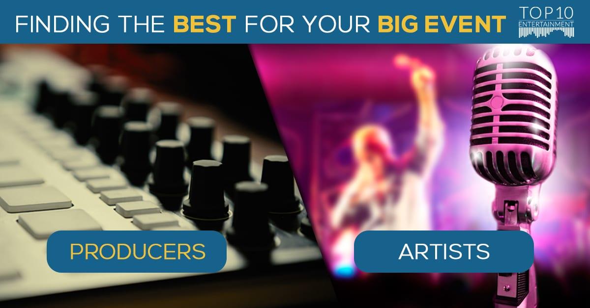 Entertainment industry graphic design