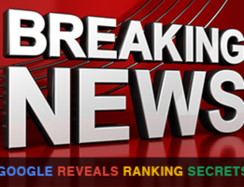 Google Reveals Ranking Secrets