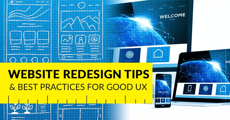 graphic design services - website redesign tips