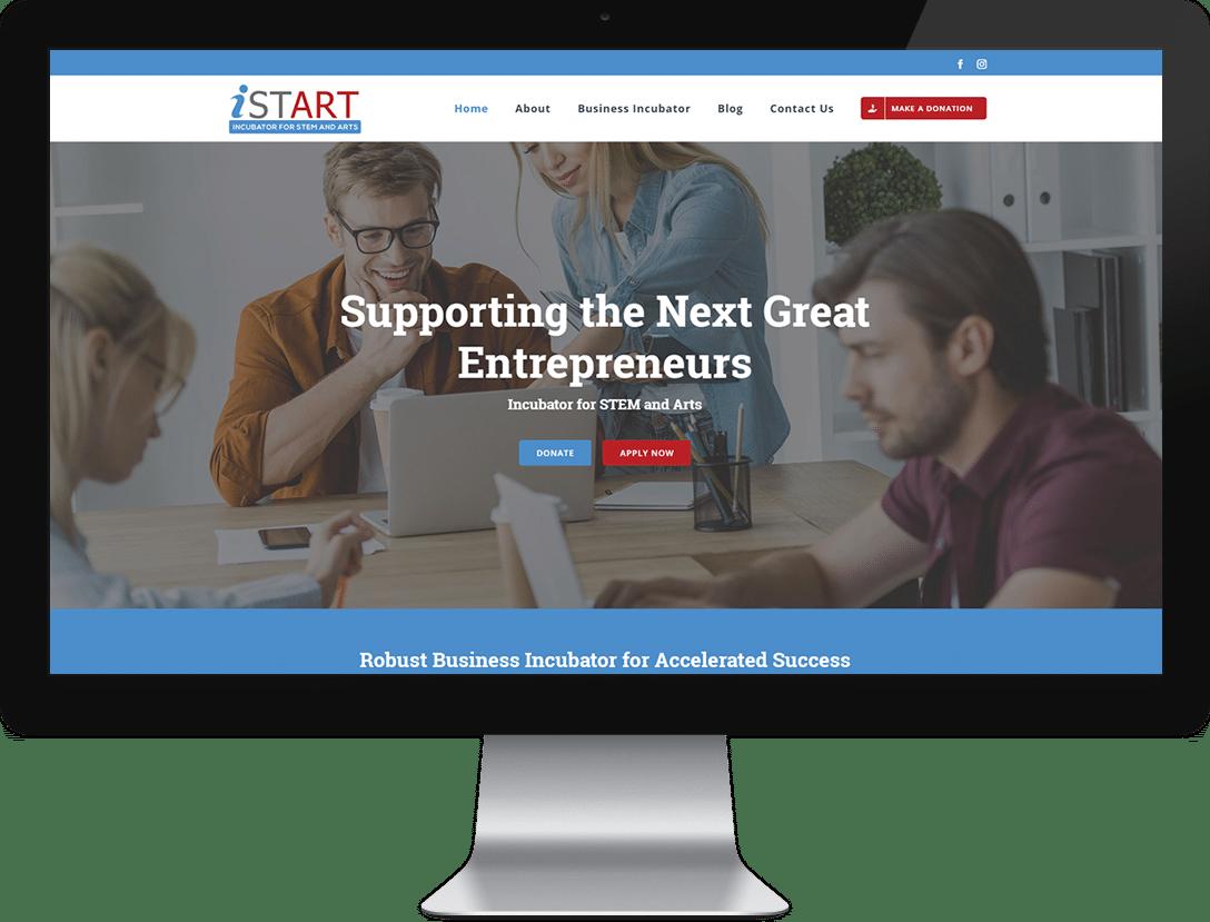website development services - design