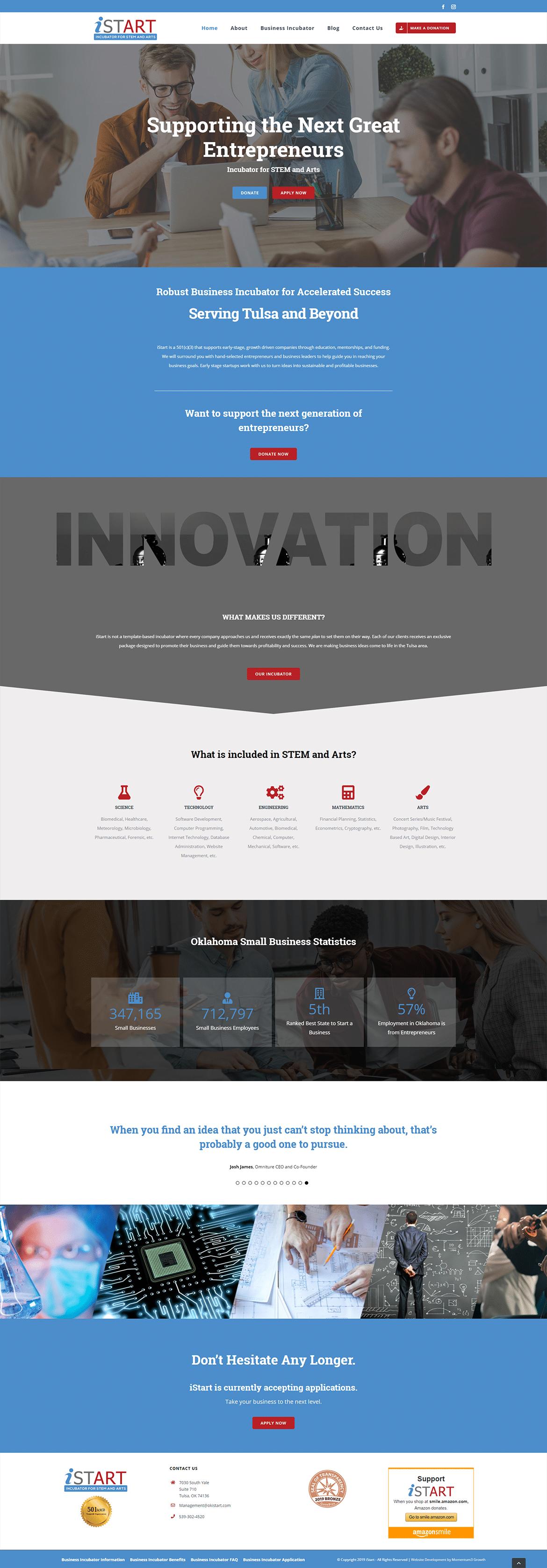 website development services - design comp