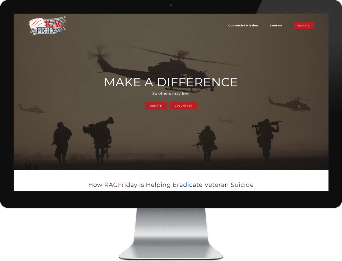 Website development - design